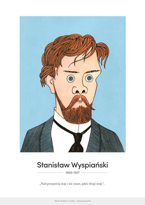Stanisław Wyspiański – karykatura