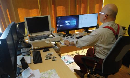 Repozytorium cyfrowe Rzeki Czasu w Bibliotece Publicznej w Obornikach