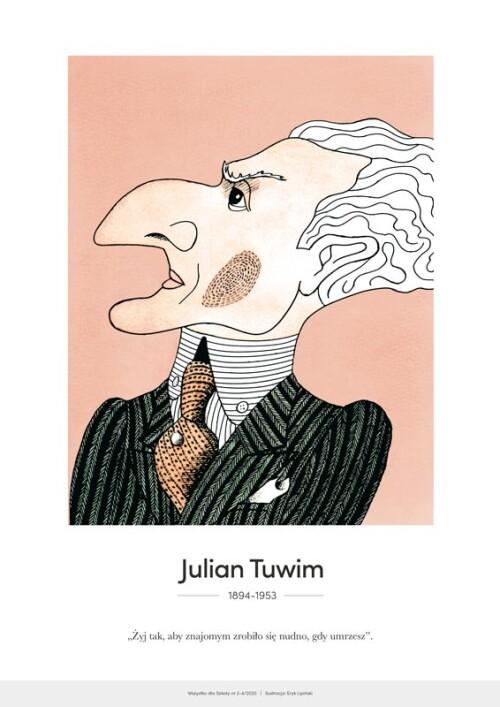 Julian Tuwim – karykatura
