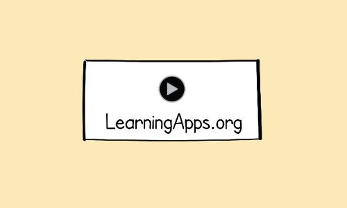 Interaktywne zadanie  na platformie Learning Apps krok po kroku