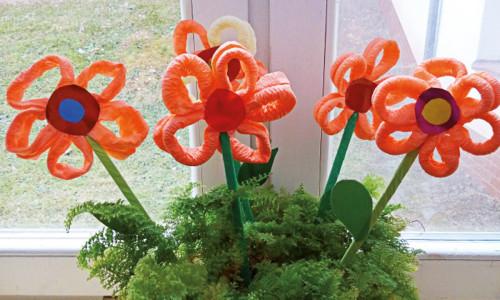 Kolorowe kwiaty dla mamy i taty