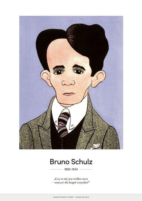 Bruno Schulz – karykatura