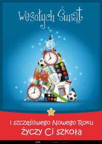 Boże Narodzenie – Życzenia od szkoły