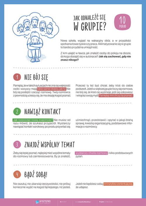 10 zasad - Jak odnaleźć się w grupie?