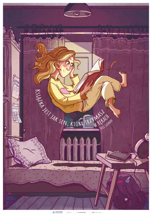 Książka jest jak sen, który trzymasz w rękach