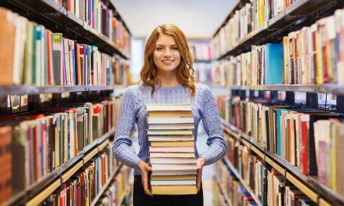 Biblioteka jest kobietą