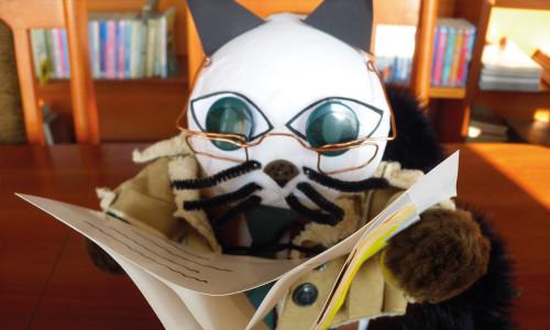 Światowy Dzień Kota w bibliotece szkolnej na nowe sposoby