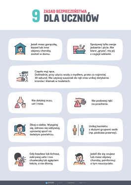 PAKIET: Koronawirus w szkole - profilaktyka