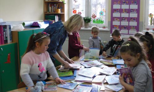 Mobilna Biblioteka z Muszyny dla szkół