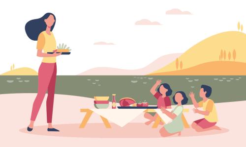 Bon ton na pikniku