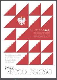 11 listopada - Święto Niepodległości - trójkąty