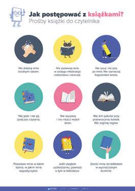 Prośby książki do czytelnika