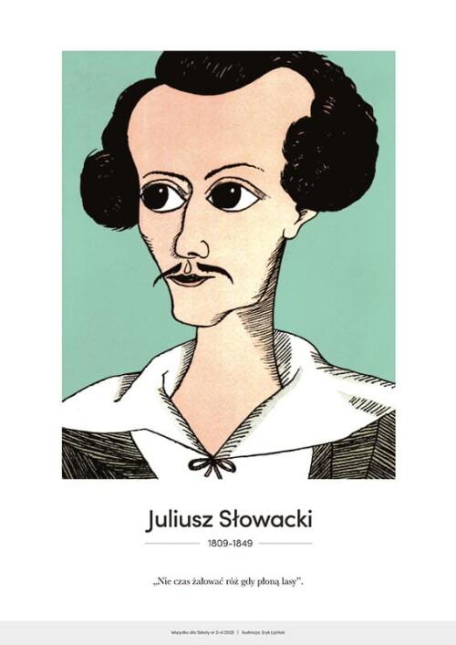 Juliusz Słowacki – karykatura