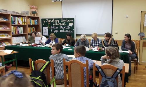 Powiatowe konkursy literackie w bibliotece szkolnej