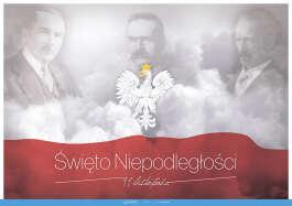 11 listopada - Święto Niepodległości - Piłsudski, Paderewski, Dmowski