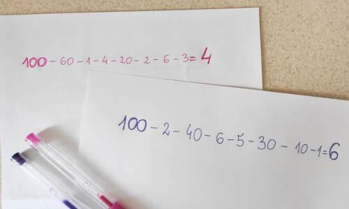Gry matematyczne w świetlicy