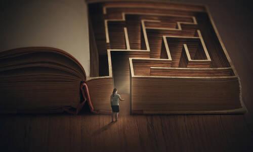 W labiryncie książek