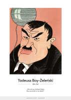 Tadeusz Boy- Żeleński – karykatura