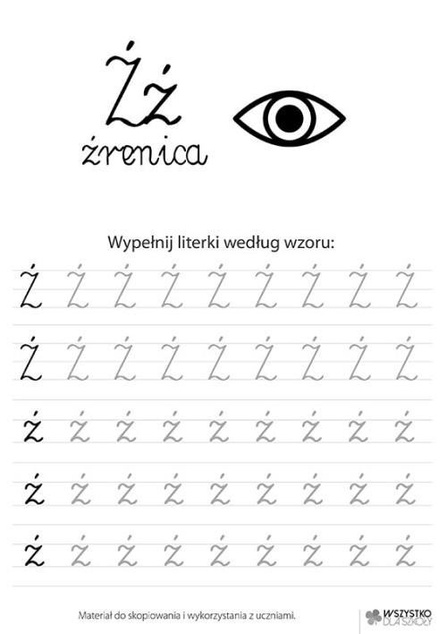 "Litera ""Ź"""