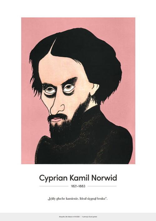 Cyprian Kamil Norwid – karykatura
