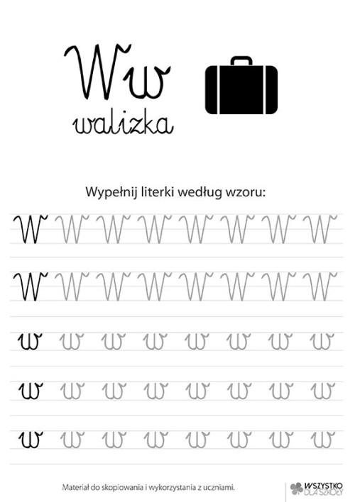 """Litera """"W"""""""