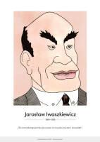 Jarosław Iwaszkiewicz – karykatura