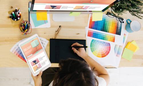 Tablet graficzny podczas zajęć bibliotecznych