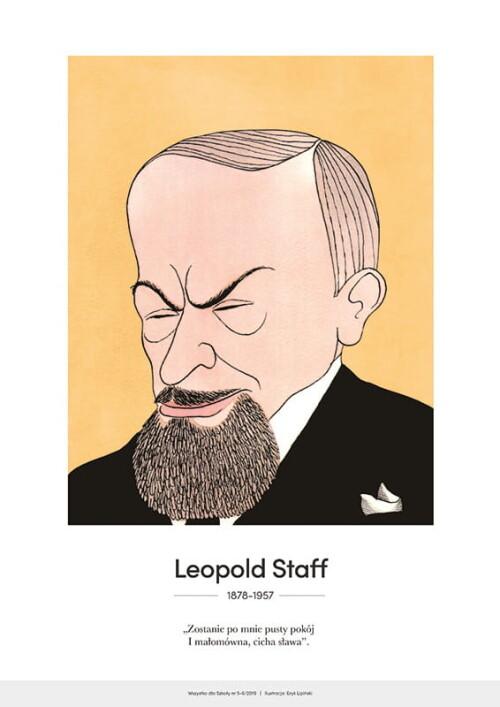 Leopold Staff – karykatura