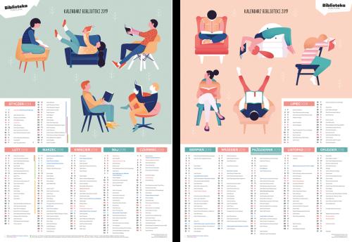 Kalendarz biblioteki 2019