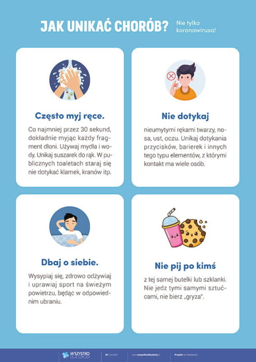 Jak unikać chorób?