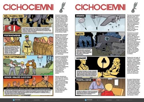 Komiks - Rok Cichociemnych