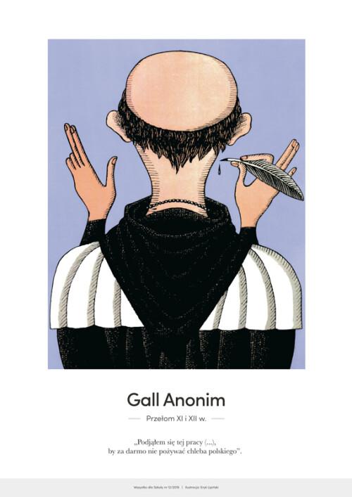 Gall Anonim – karykatura