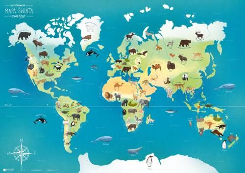 PAKIET: Ilustrowane mapy dla dzieci