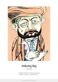 Mikołaj Rej – karykatura