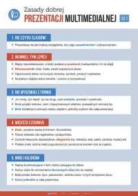 Zasady dobrej prezentacji multimedialnej - cz. 1