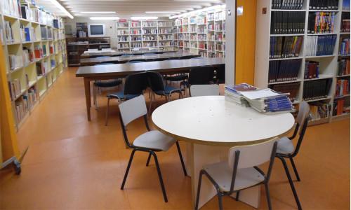 Z wizytą w szkolnej  bibliotece katalońskiej