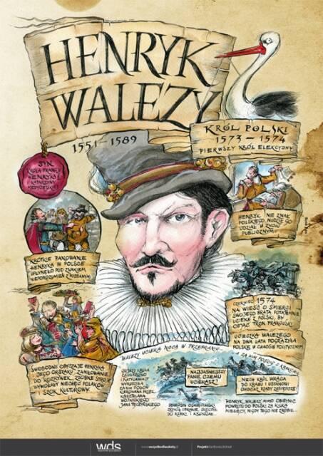 Henryk Walezy – Poczet królów polskich