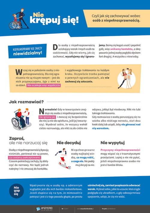 Jak postępować z niepełnosprawnymi