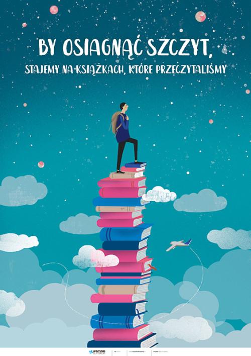 By osiągnąć szczyt, stajemy na książkach, które przeczytaliśmy