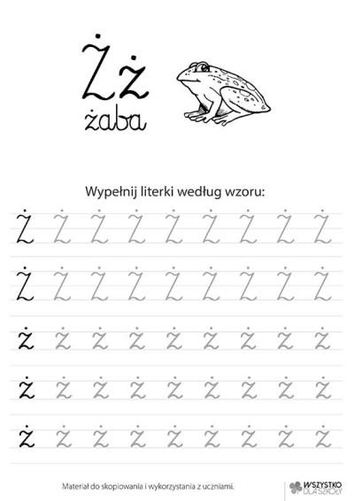 """Litera """"Ż"""""""