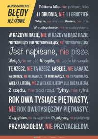 Najpopularniejsze błędy językowe (złożony)