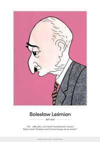 Bolesław Leśmian – karykatura