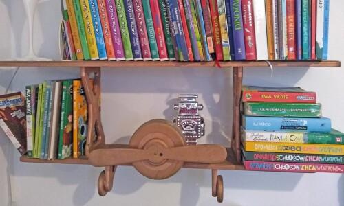 """""""Bookshelf tour"""",  czyli pokaż swoją półkę zksiążkami"""