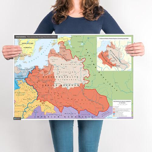 Unia Lubelska – mapa