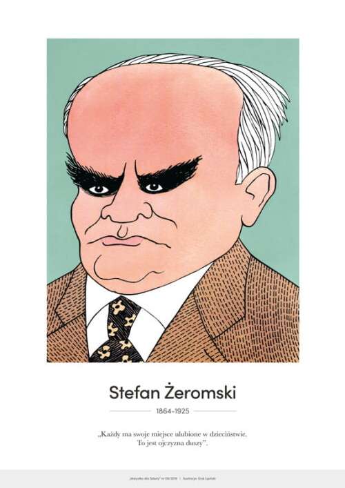 Stefan Żeromski – karykatura