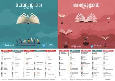 Kalendarz biblioteki 2016/2017