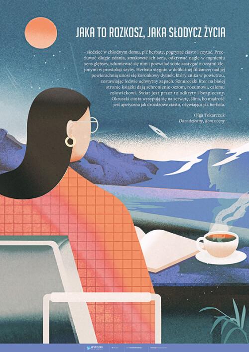 Olga Tokarczuk o czytaniu