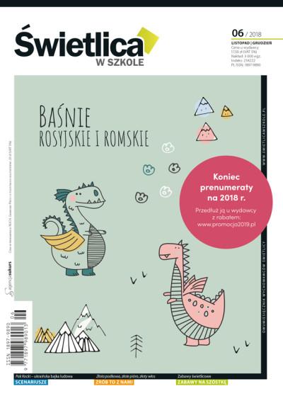 Wszystko dla Szkoły – numer 06/2018 - Baśnie rosyjskie i romskie