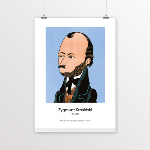 Zygmunt Krasiński – karykatura