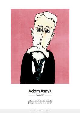 Adam Asnyk – karykatura